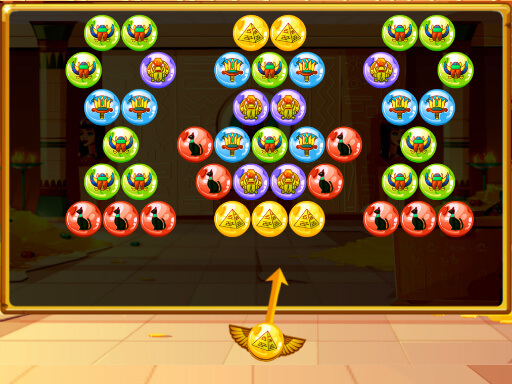 Bubble Shooter Egypt