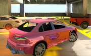 3D Underground Car Parking