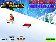 Alvin Downhill Skiing