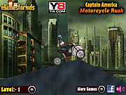 Captain America Motorcycle Rush