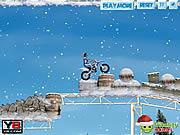 Winter Bike Stunts